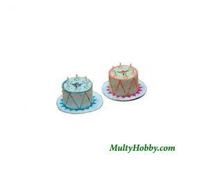 2 Pasteles cumpleaños