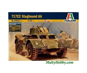 Aircraft model T17E2 Staghound AA
