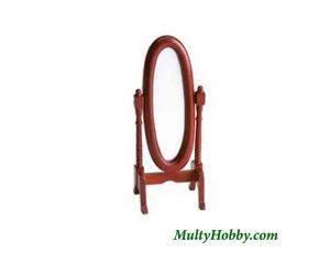 Espejo oval con soporte