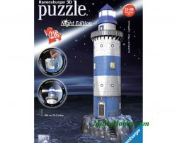Puzzle 3D Faro Night Edition