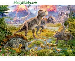 Puzzle Encuentro de dinosaurios