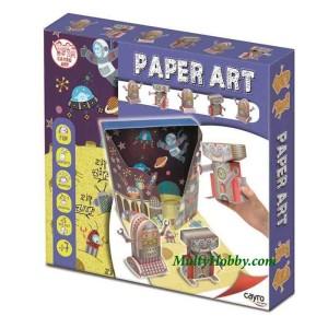 Paper Art Robots
