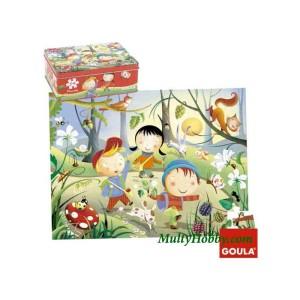 Puzzle bosque de 54 piezas