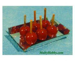 Bandeja con manzanas