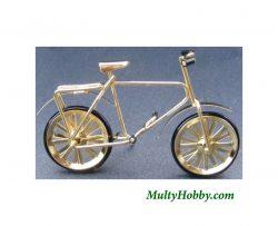 Bicicleta dorada
