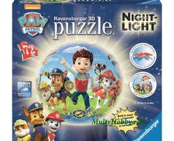 Lámpara 3D puzzle