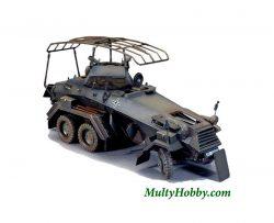 Vehículo Blindado alemán SD.KFZ. 232.